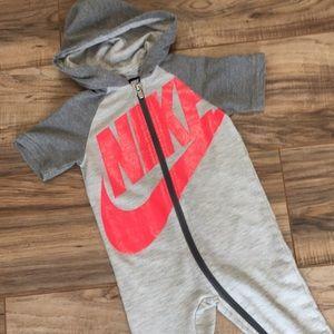 Nike Zip Up Jump Suit 18 months